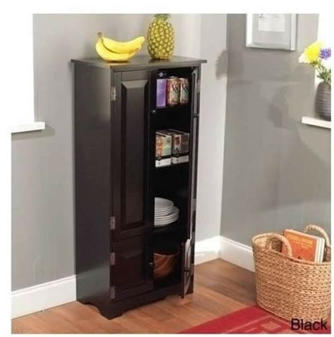 Cabinet Storage Kitchen Pantry Organizer Furniture