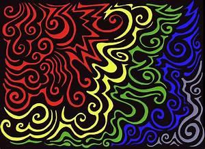 Rainbow Burst Tribal by Mandy Shupp