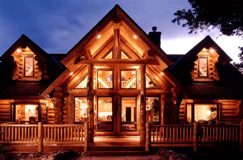manufactured log homes yellowstone log homes