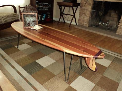 surfboard coffee table 379 duke kahanamoku pinterest