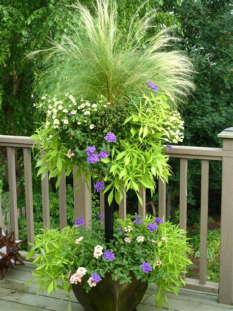planters create container gardens