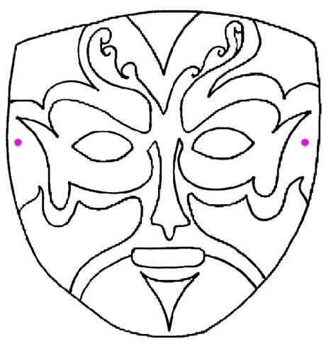 masque a colorier et a imprimer gratuit masque 238 objets coloriages 224 imprimer