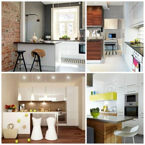petites cuisines photos aménagement cuisine pratique et moderne