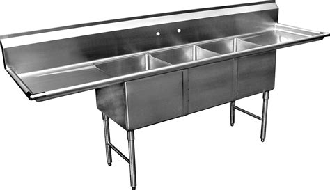 compartment sink        drainboards