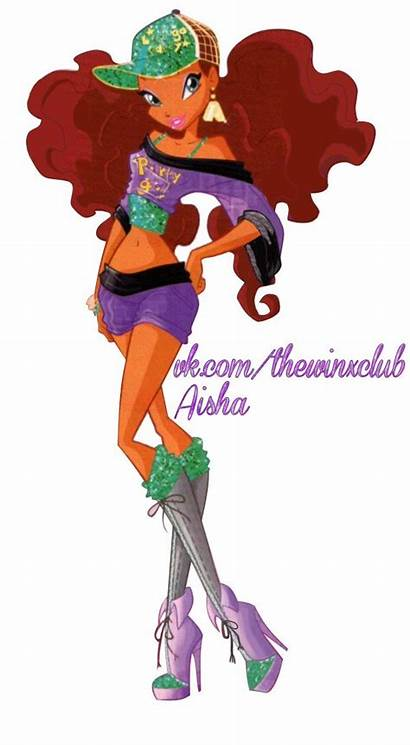 Winx Club Season Disco Layla Aisha Imagenes