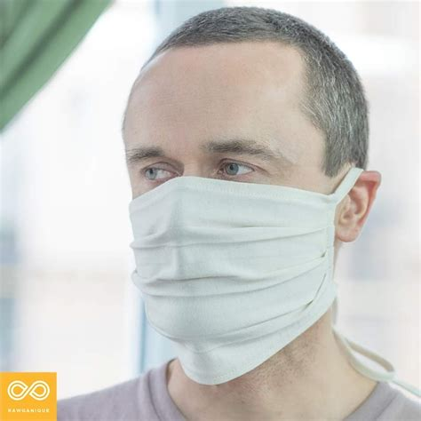 organic cotton face mask breathing mask pollution protection