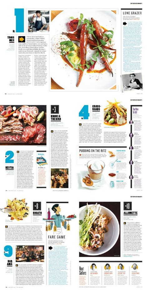 editorial ideas food magazine layout magazine layout