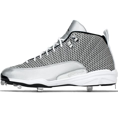 nike air jordan retro  metal adult baseball cleat