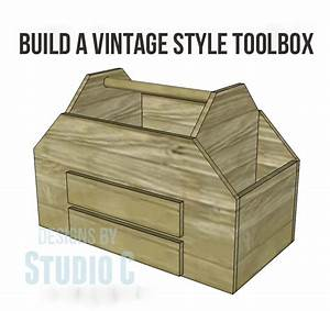 Build a Vintage-Style Toolbox