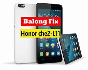 Honor 4x Che2 Debrand  Change Region