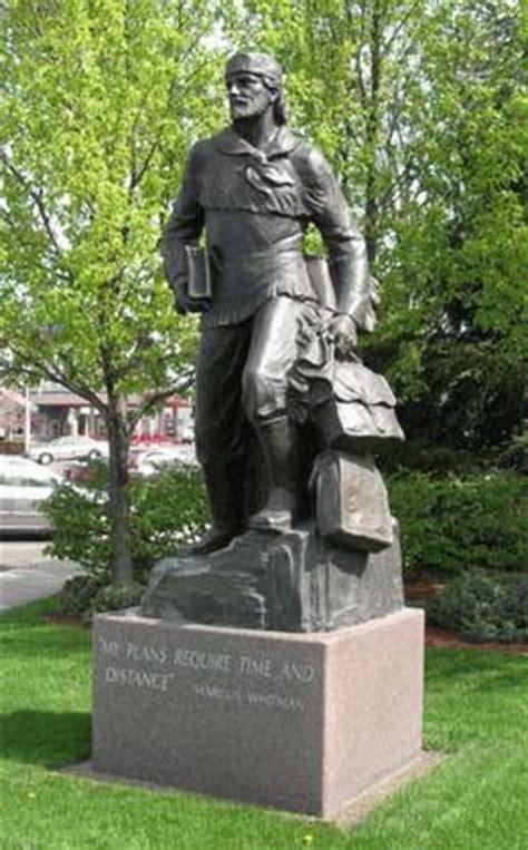 marcus whitman statue  unveiled   capitol