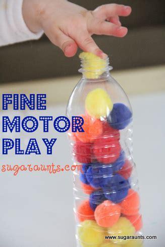 fine motor play  crafting pom poms  ot toolbox