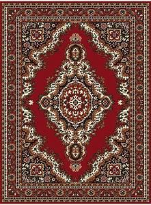 Tapis Moins Cher : tapis sahara 05 rouge de la collection unamourdetapis ~ Teatrodelosmanantiales.com Idées de Décoration