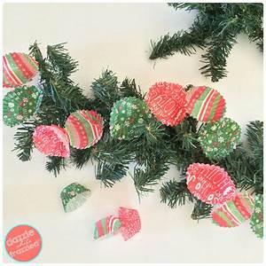 Christmas, Tree, Garland