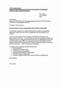 Cover Letter Template Visa Application