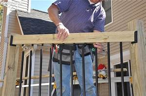 Installing In-line Balusters