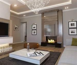 Indirekte Deckenbeleuchtung Wohnzimmer : moderne deckenbeleuchtung wohnzimmer ideen zur ~ Michelbontemps.com Haus und Dekorationen