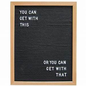 16quot x 20quot wood frame letter board black three potato four With home brand letter board