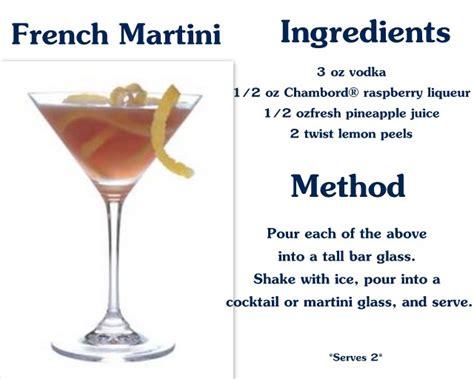 martini recipe french martini recipe