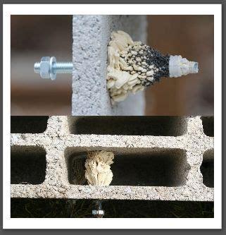 cheville parpaing creux cheville chimique pour les ancrages sur parpaings creux jardin