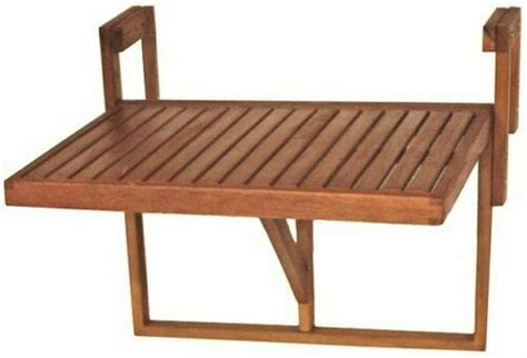 stolik ogrodowy podwieszany naturalne drewno stol skladany