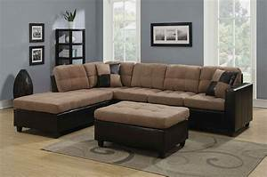 Big Sofa L : coaster 505675 harlow mallory two tone tan sectional buy ~ Pilothousefishingboats.com Haus und Dekorationen