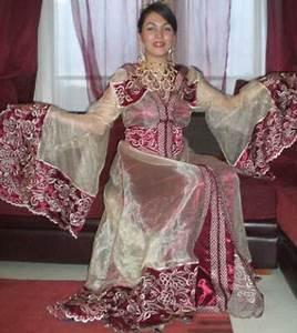 Robe De Mariage Marocaine : robe marocaine pour mariage ~ Preciouscoupons.com Idées de Décoration