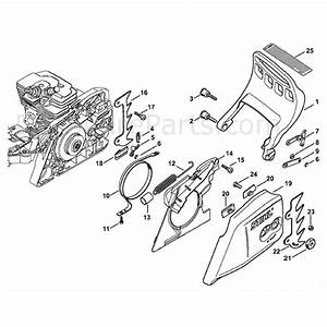 Stihl Ms 311 Chainsaw  Ms311  Parts Diagram  Hand Guard