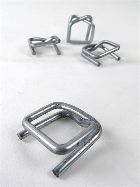 galvanised metal buckles