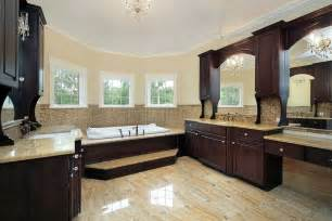 bathroom paint colors with dark cabinets are light mike