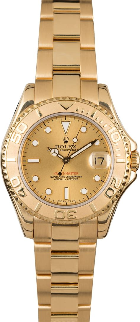 Buy Used Rolex Yacht-master 68628   Bob's Watches - Sku ...