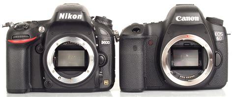 nikon d600 dslr canon eos 6d vs nikon d600 dslr comparison review ephotozine