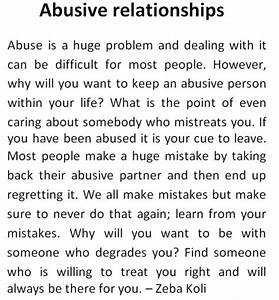 Emotional Abuse In Relationships | www.imgkid.com - The ...