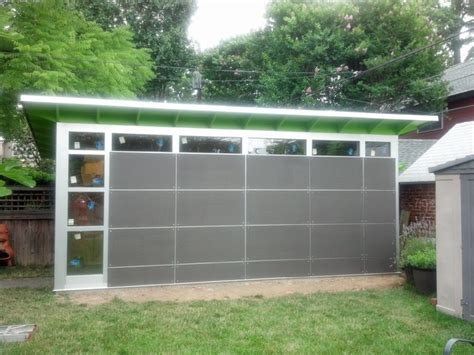 10 X 20 Modern Shed Plans by 10x20 Gorgeous Storage Shed Modern Garage And Shed