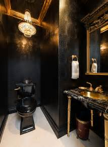 how to paint bathroom cabinets ideas 15 refined decorating ideas in glittering black and gold