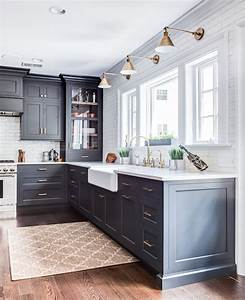 shadyside project stonington cabinetry designs With kitchen colors with white cabinets with black wrought iron wall art