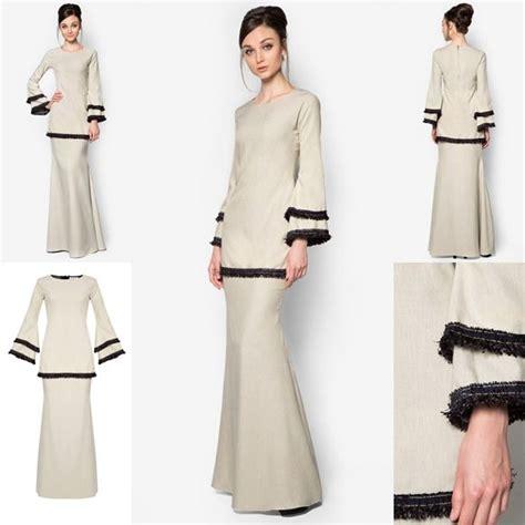 fesyen trend terkini images  pinterest kebaya kebayas  baju kurung moden