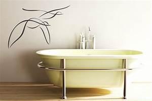 Moderne Wandgestaltung Bad : badezimmer tattoo ~ Sanjose-hotels-ca.com Haus und Dekorationen