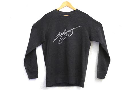 zen crewneck script lettering proud lily released level really ve quality