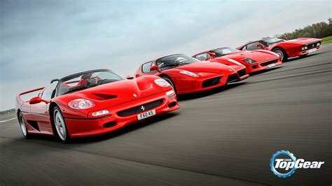 F50 Top Gear by The F40 F50 288 Gto And Enzo Hd Wallpaper