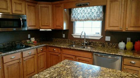 portofino gold granite kitchen project details  pictures