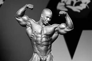 Victor Martinez At The 2010 Mr  Olympia