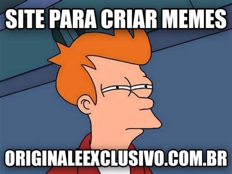 Memes Site - site para criar memes original e exclusivo