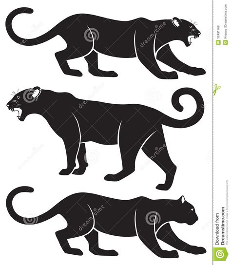 Jaguar Cat Silhouette