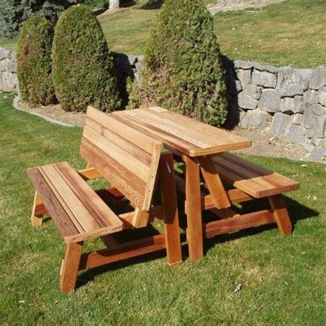 herman convertible furniture bench   picnic table