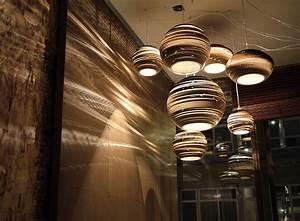 Cardboard light unique design company seattle