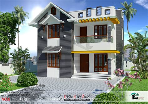 bedroom house plans  kerala double floor kerala house plans designs floor plans  elevation