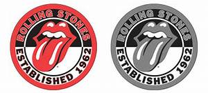 The gallery for --> The Rolling Stones Logo Black And White