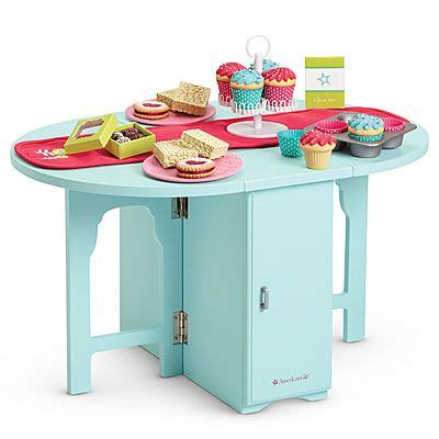american doll kitchen table american 174 furniture baking table treats dolls