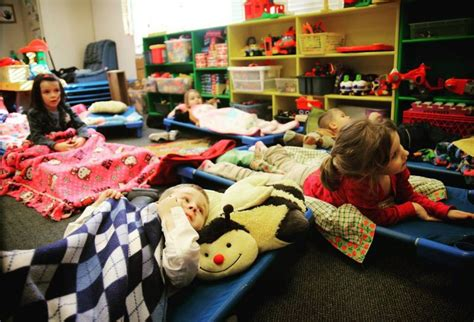 preschool nap all the pilgrims the cots in mrs h s room 822
